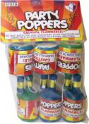 PARTY POPPERS (Polybag of 6 Pieces)