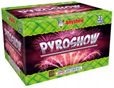 23 SHOT PYRO SHOW