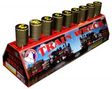 9 SHOT TRAIN WRECK