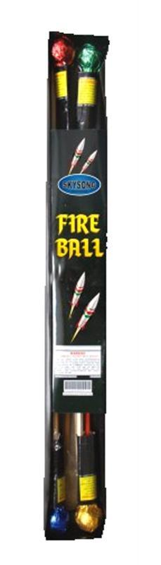 FIRE BALL ROCKETS 4's