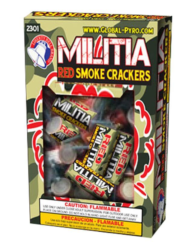 MILITIA SMOKE CRACKERS 24's