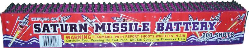 HUGE 20 SHOT SATURN MISSILES