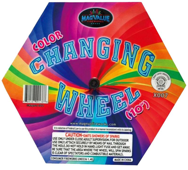 COLOR CHANGING WHEELS