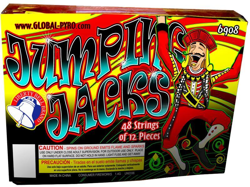 JUMPING JACKS 48/12's