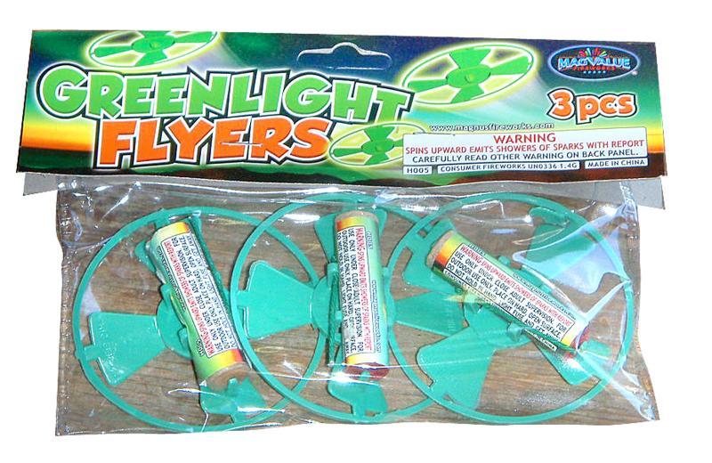 GREENLIGHT FLYERS 3's