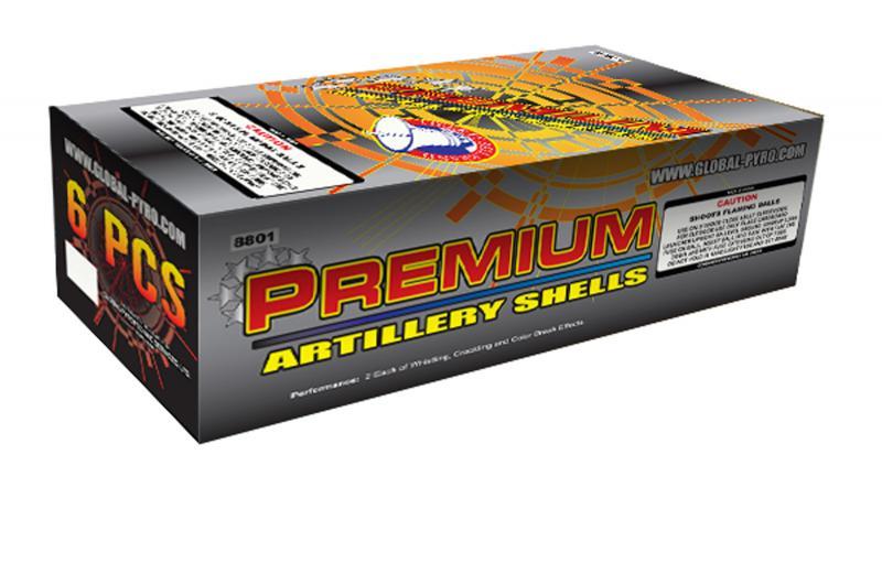 PREMIUM ARTILLERY SHELLS 12's