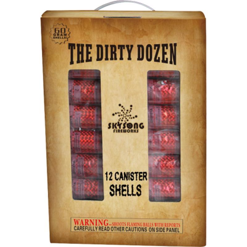 DIRTY DOZEN SHELLS 12's