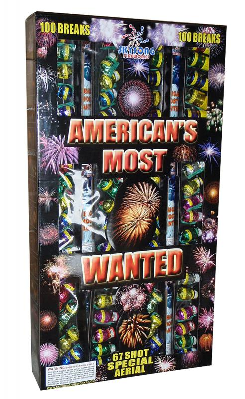 AMERICA'S MOST WANTED SHELL ASSORTMENT