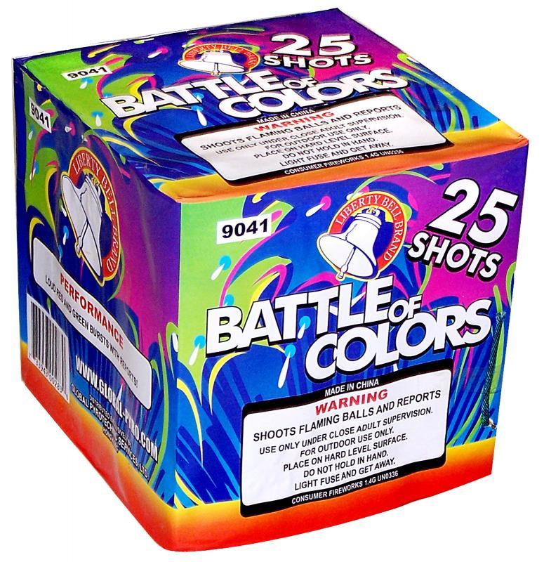 25 SHOT BATTLE OF COLORS
