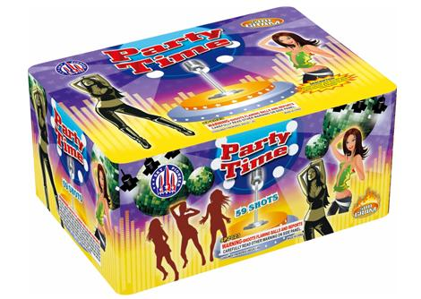 59 Shot Party Time box