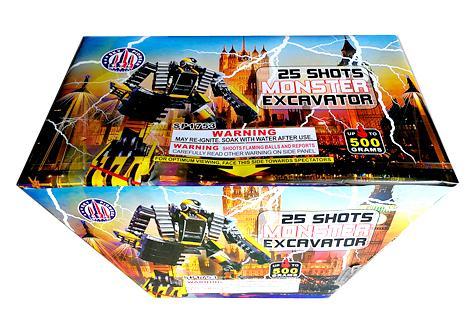 25 Shot Monster Excavator box