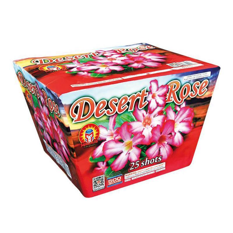 25 SHOT DESERT ROSE
