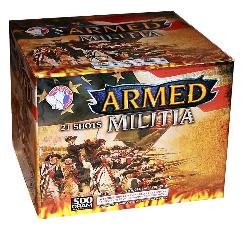 21 SHOT ARMED MILITIA