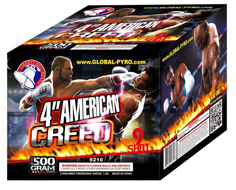 9 SHOT AMERICAN CREED