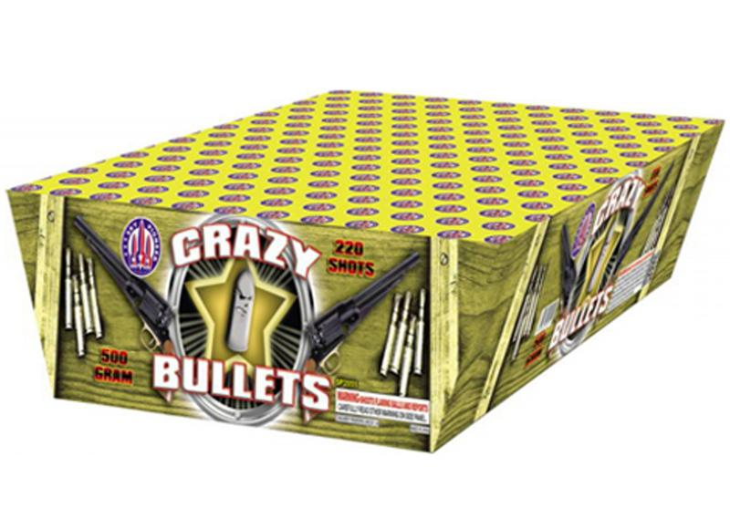 220 SHOT CRAZY BULLETS