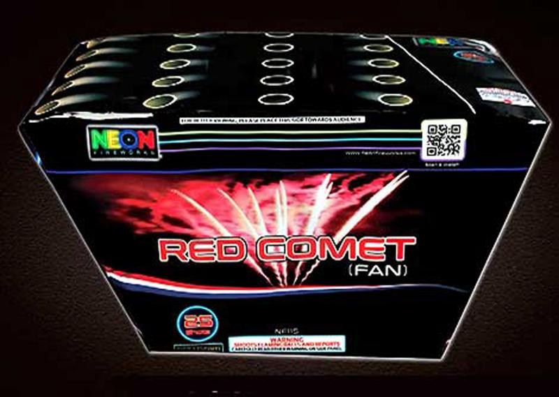 25 SHOT RED COMET FAN