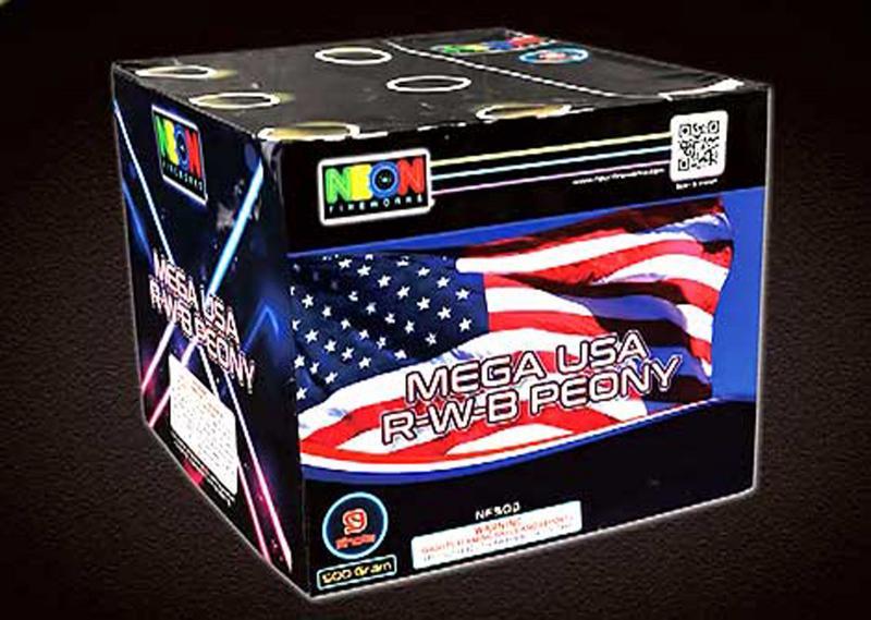 9 SHOT MEGA USA PEONY